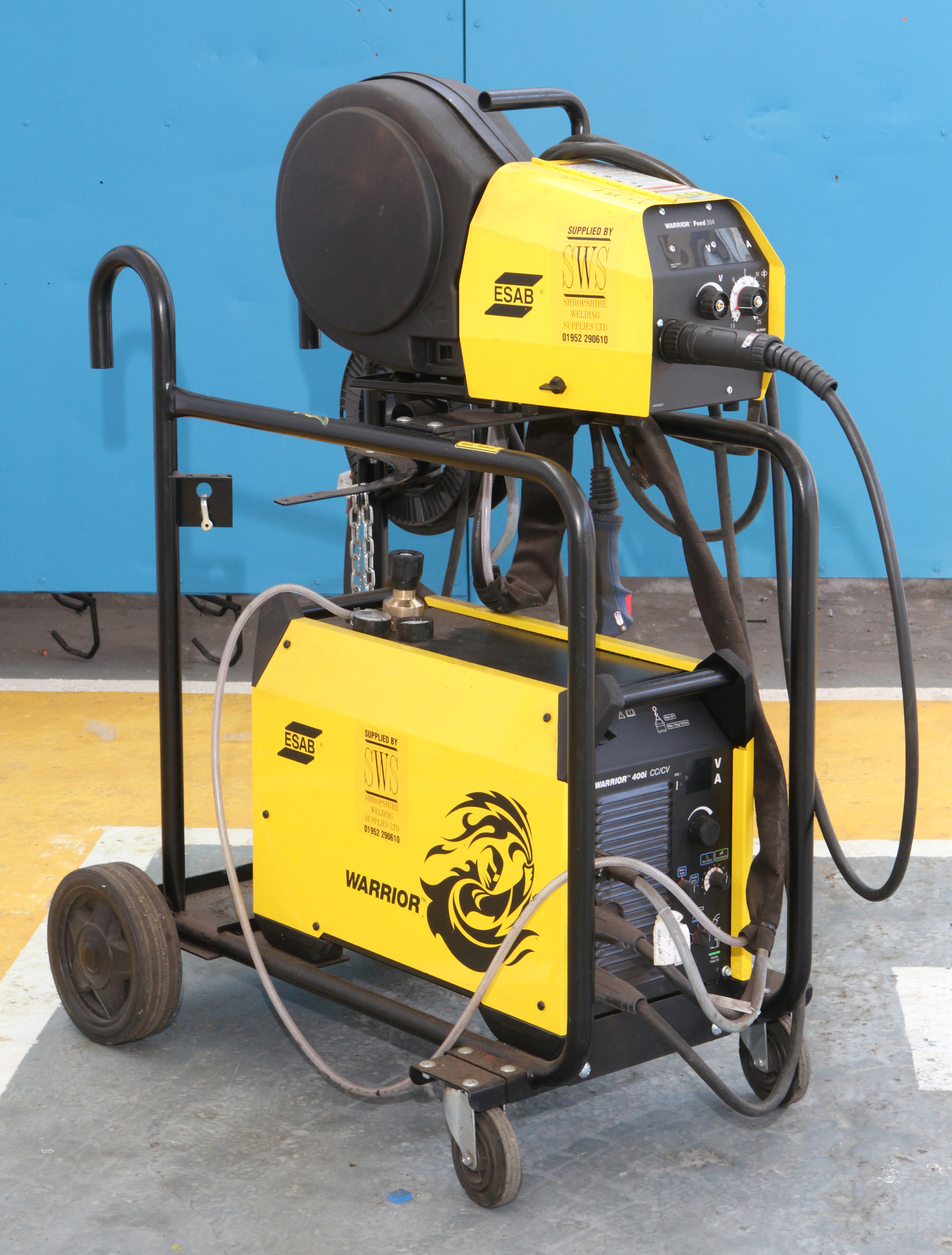 Used Warrior 400i Welding sets for sale