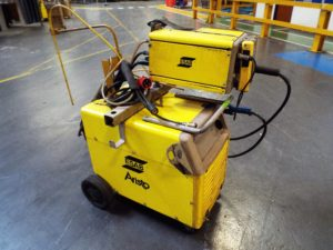 6 second hand ESAB Aristo welding sets sets for sale